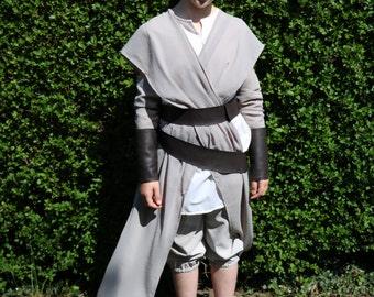Girls Rey inspired costume handmade in all sizes