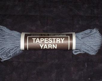 Vintage Tapestry Yarn,grey,40 yds,36.5M,Crewel, needlepoint,100% virgin wool,285-02,needlework