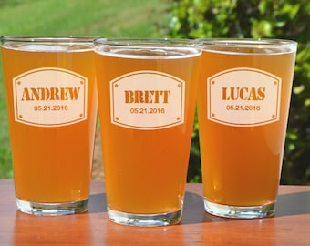 2, Personalized Groomsmen Gifts, Beer Mugs, Best Man Gift, Custom Beer Glasses, Groomsmen Gift, Gifts for Men, Wedding Party, Gift for Groom