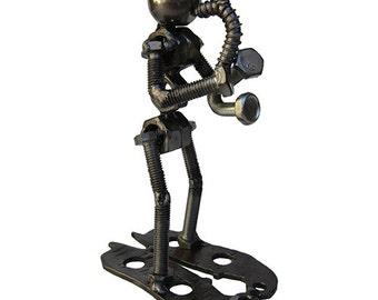 Saxophone Player Sculpture