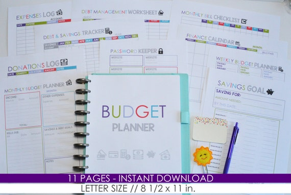 50 off budget planner diy budget organizer by mamasgotittogether
