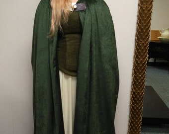 Floor length hooded cloak