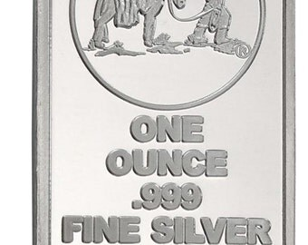 10 Oz Silver Bar By Sgbullion On Etsy