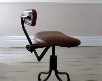 Vintage 1930s Industrial Architects Chair
