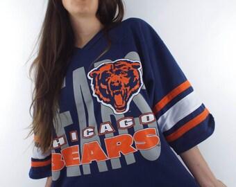 Vintage 90s Chicago Bears Oversized Tee