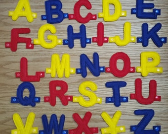Felt Alphabet - Felt letters - Alphabet - Educational Game - Educational Toy - Letters - Learning Alphabet - Felt ABC - Preschool