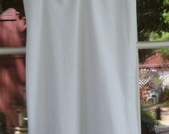 Pale Blue Nylon Slip with Lace--Size 32
