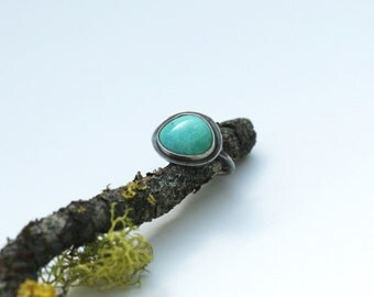 Sweet Turquoise Everyday Ring, Size 6