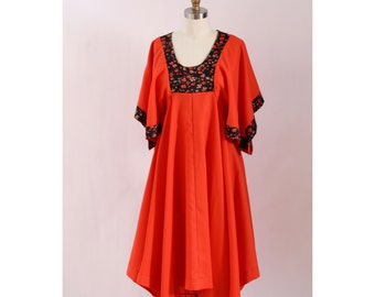 1970's Clementine Handkerchief Dress