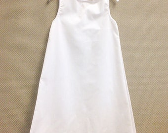 Straight Baby Dress Slip, Infant Slip, Short Straight Slip for Baby Girl's