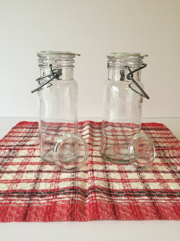 vintage wheaton jars apothecary glass jars with lids storage. Black Bedroom Furniture Sets. Home Design Ideas
