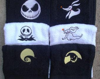 Nightmare Before Christmas Towels