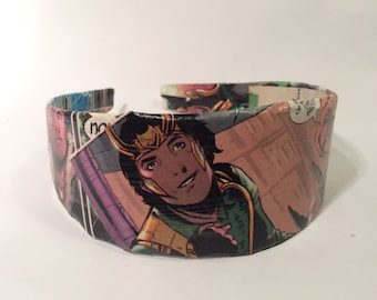 Loki and Thor Comic Book Headband