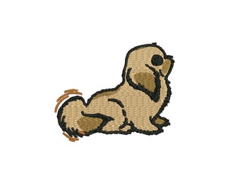 embroidery design Toy dog, Little Dog embroidery file