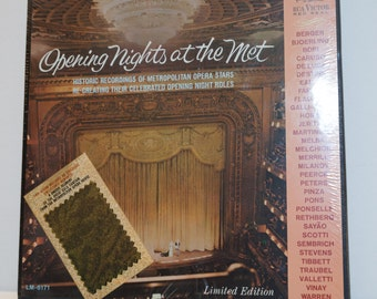 Opening Nights at the Met-- (Limited Editon) SEALED Box Set -- 1966 RCA LM 6171