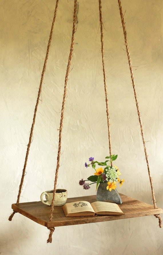 hanging table bed side table scandinavian suspended