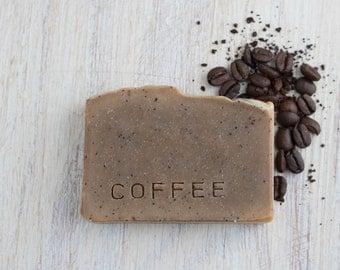 Coffee, handmade cold process soap
