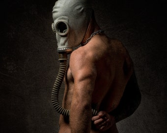 The Gas Mask Series (3 Separate images)