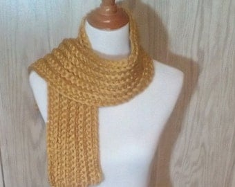 Chunky Gold Scarf