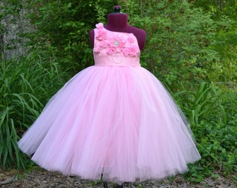 Formal Pageant or Flower Girl Dress -  A Beautiful Dress In a Variety of Colors - The Miranda Dress