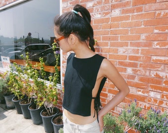 Open Side Breeze Crop Top