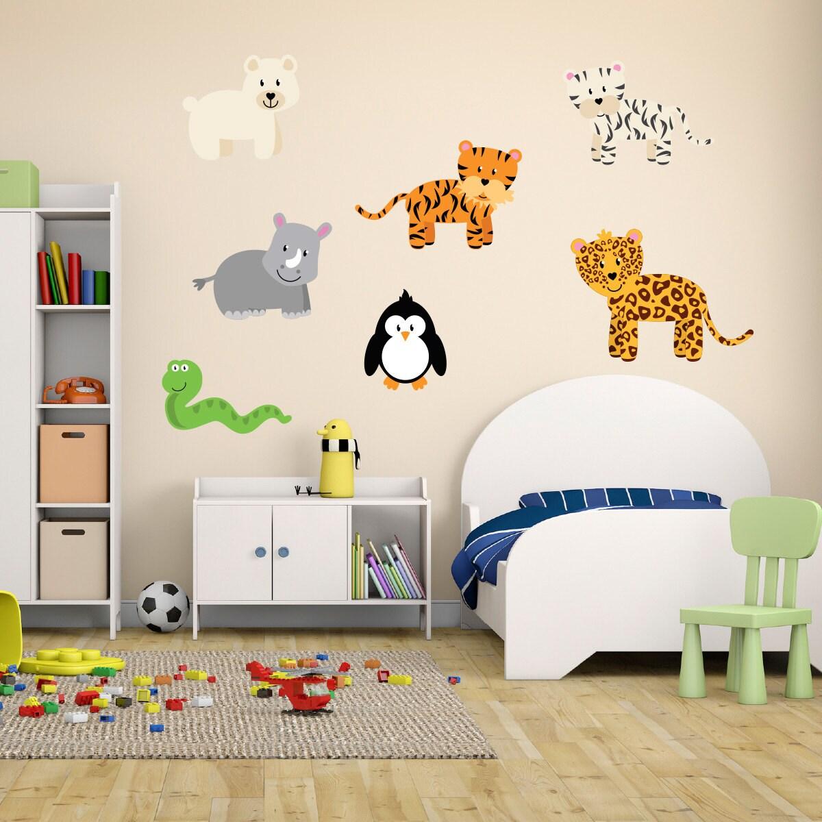 wild jungle animal wall stickers safari wall decals animal pics photos jungle animal wall stickers
