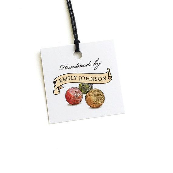 Knitting Gifts For Knitters : Gift for knitters knitting or crochet tags by