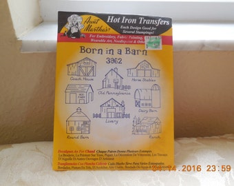 IRON ON TRANSFERS by Aunt Marthas