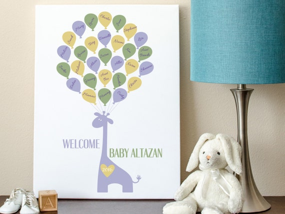 baby guest book baby shower sign in giraffe guest book giraffe baby