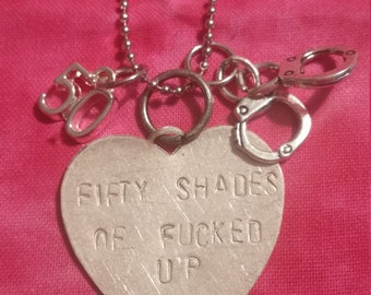 50 Shades Inspired Necklace