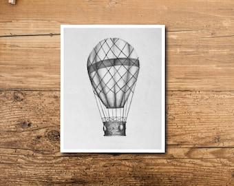 Hot Air Balloon Decor - Hot Air Balloon Art - Hot Air Balloon Decoration