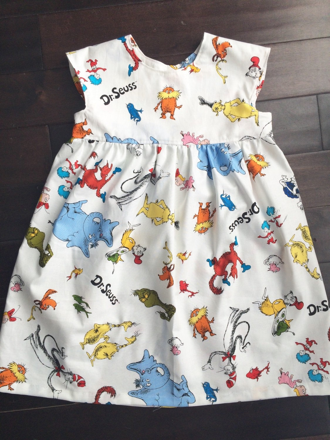 Dr Seuss Dress Girls Dresses Baby Girls Clothing By Suzykid