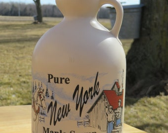 Pure Maple Syrup, New York Maple Syrup, quart maple syrup, maple syrup, natural sweetener, pancake syrup, breakfast syrup, natural