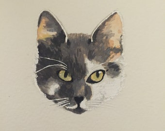 custom cat portrait