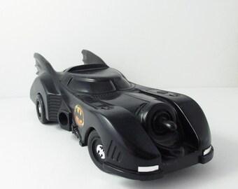 1989 Batmobile Toy Car Batman Movie DC Comic Takes Batteries (Best As A Display Piece)