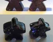 Purple Meeples - set of 2...