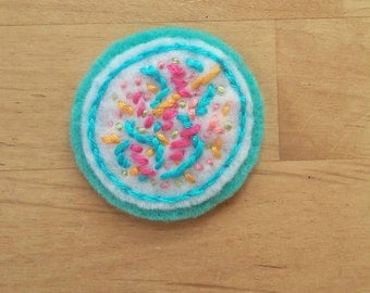 Confetti Time Patch (badge, pin, brooch, magnet)