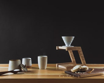 Pour Over Stand / Coffee / Hario / White Ash / Modern / Kitchen