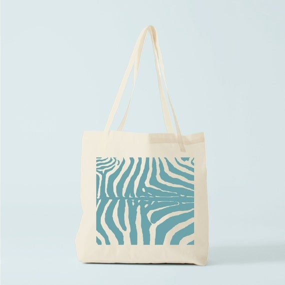 Tote Bag, Zebra. canvas bag, groceries bag, shopper bag, cotton bag, reusable bag, zebra pattern, laptop bag, novelty gift, gift coworker.