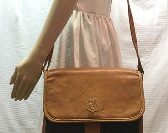 Leather Messenger Bag, Crossbody Shoulder Bag Purse, Free US shipping