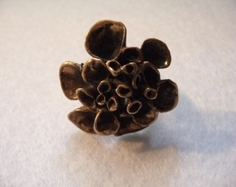 Ring. Hannu Ikonen (Finland). Bronze. Vintage.