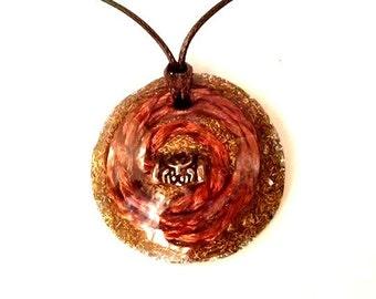Orgone Pendant Thor Copper Pendant Thor Orgone Pendant Copper Orgone Pendant Copper Orgone Necklace Crystal Healing EMF Protection Healing