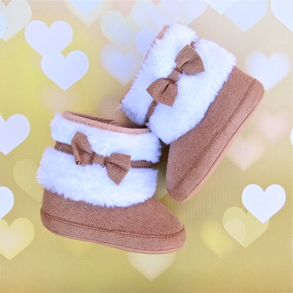 Baby Shoes Boots Snow Furry