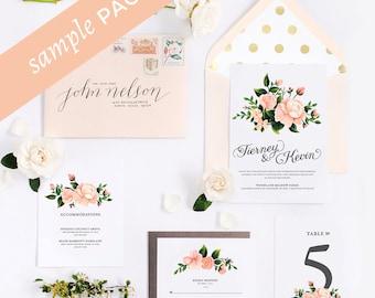 Juliet Collection - Wedding Invitation (Sample Kit)