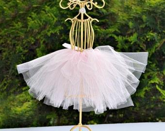 Mini Tutu Centerpiece, Tutu Mannequin, TuTu Bridal Shower Centerpiece, BallerinaCenterpiece, Wedding Centerpiece, Princess Decoration
