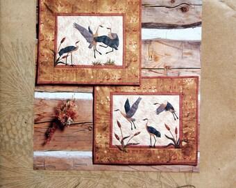 Crane Dance By McKenna Ryan And Pine Needles Uncut Quilt Pattern 1999