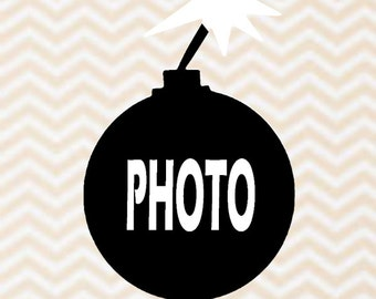 Photo Booth Props 2 Photo Bomb Sign Selfie Photo Prop Instagram Photo Prop Wedding Photo Prop Graduation Photo Prop Birthday Photo Booth