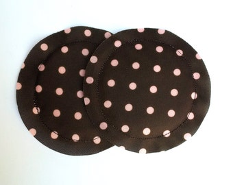 Nursing Pads, Breast Pads, Heavy Absorbency, No Show, Breastfeeding Gift, Reusable, Polka Dot