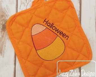 Candy Corn Color Sketch Fill Embroidery Design - candy Sketch Embroidery Design - Halloween Sketch Embroidery Design - candy corn Sketch
