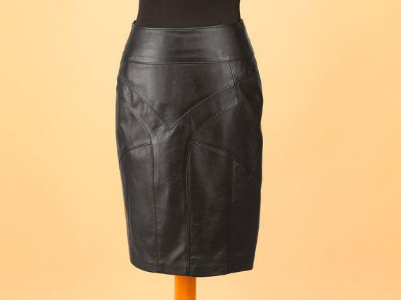 leather skirt genuine leather skirt custom made leather